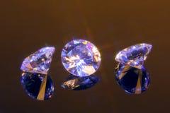 Magic cut crystals Royalty Free Stock Photo