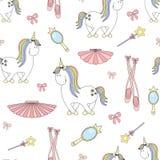 2018.04.24_2 unicorn ballet_P vector illustration