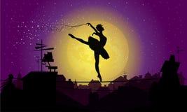Magic dance stock photography