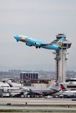Magic of Disneyland Boeing 737-400 Stock Image