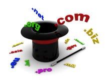 Magic domains stock illustration
