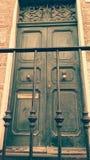 Magic door vintage Stock Photography