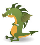 Magic dragon Royalty Free Stock Image
