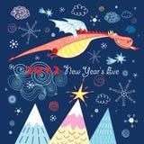 Magic dragon Royalty Free Stock Images