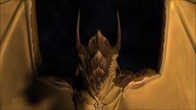 Magic Dragon stock video