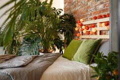 Magic, exotic bedroom Royalty Free Stock Image