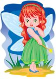The magic fairy Stock Photos