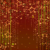 Magic fairy abstract shiny background with stars. Magic fairy abstract shiny with stars red background Royalty Free Stock Image