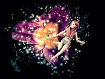 Magic fairy flower Royalty Free Stock Image