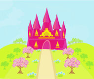 Magic Fairy Tale Princess Castle Royalty Free Stock Photo