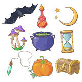 Magic and Fairy Tale Vector Royalty Free Stock Images