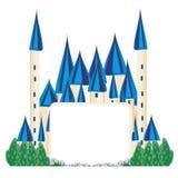 Magic FairyTale Princess Castle Stock Image