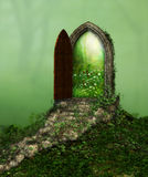 Magic Fantasy Doorway Royalty Free Stock Image