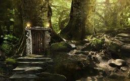 Magic fantasy world Royalty Free Stock Photos