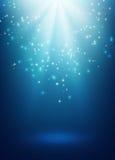 Magic festive background Stock Image