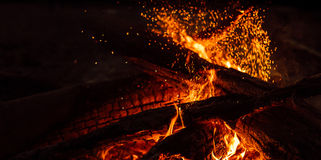 Magic fire Stock Photography