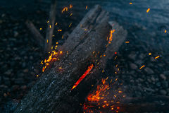 Magic fire Royalty Free Stock Photos