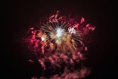 Magic fireworks Royalty Free Stock Photo