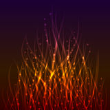 Magic flame background. Royalty Free Stock Images