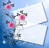 Magic floral background Stock Images