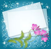 Magic floral background Stock Photo