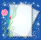 Magic floral background Stock Photos