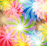 Magic flowers Stock Photo