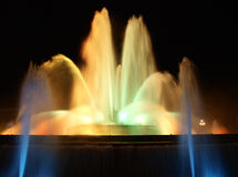 Magic fountain Royalty Free Stock Photography