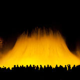 Magic fountain Stock Images
