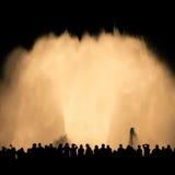 Magic fountain Stock Photo