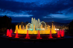 Magic Fountain Royalty Free Stock Images