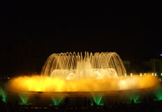 Magic Fountain of Barcelona Royalty Free Stock Image