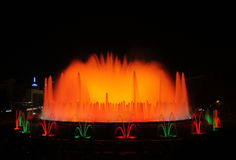The Magic Fountain - barcelona Royalty Free Stock Image