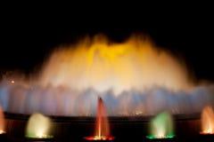 Magic Fountain in Barcelona Royalty Free Stock Photo
