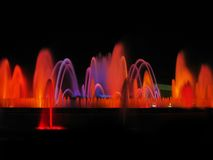 Magic fountain detail royalty free stock photos