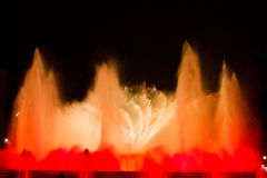 Magic Fountain of Montjuic Stock Photography