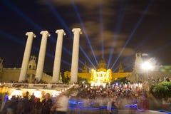 Magic Fountain of Montjuic Royalty Free Stock Image