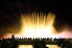 Magic Fountain of Montjuic Stock Image