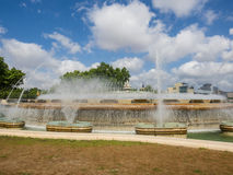 Magic Fountain of Montjuic Royalty Free Stock Images