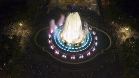 Magic Fountain in Barcelona Stock Image