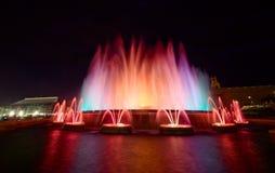 Magic Fountain Of Montjuic, Barcelona Royalty Free Stock Image