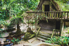 Magic garden in Koh Samui Royalty Free Stock Image