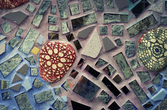 Magic Gardens: Philadelphia Glass Tile Building Royalty Free Stock Images