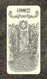 Empress. Major Arcana tarot card Stock Illustration