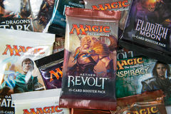 Magic the Gathering Booster packs Stock Photography