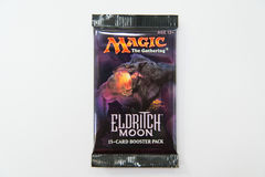 Magic the Gathering Eldritch Moon booster pack Stock Photo