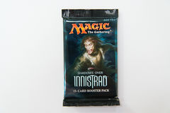 Magic the Gathering Shadows over Innistrad booster pack Royalty Free Stock Image