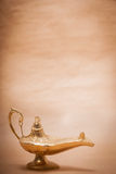 Magic Genie Lamp Royalty Free Stock Image