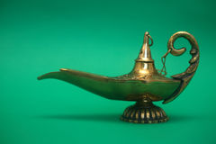 Magic Genie Lamp Royalty Free Stock Photos