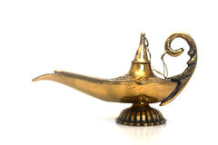 Magic Genie Lamp Stock Photography